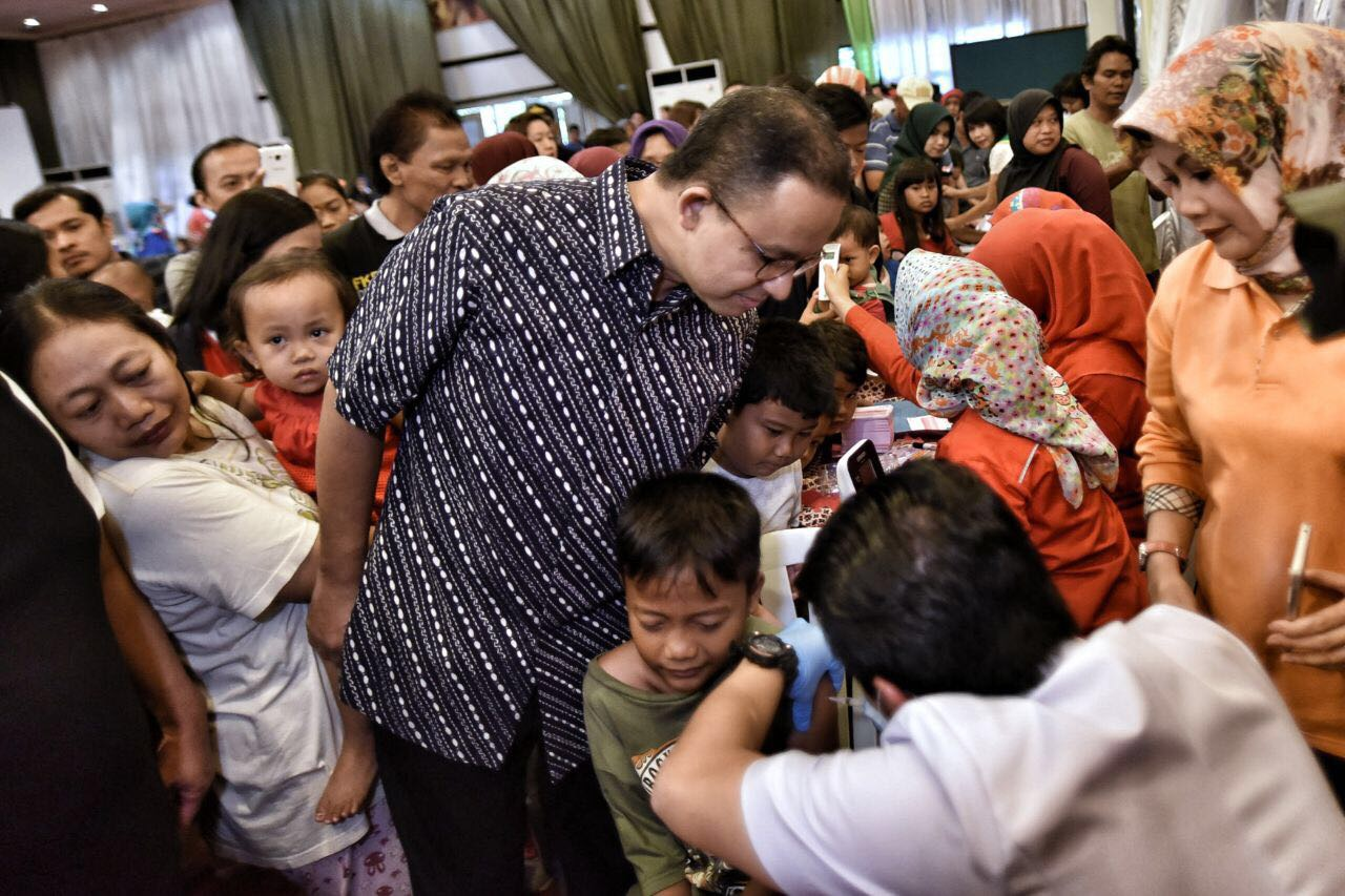 Bersama Organisasi Tionghoa, Gubernur Anies Giatkan Program Cegah Difteri