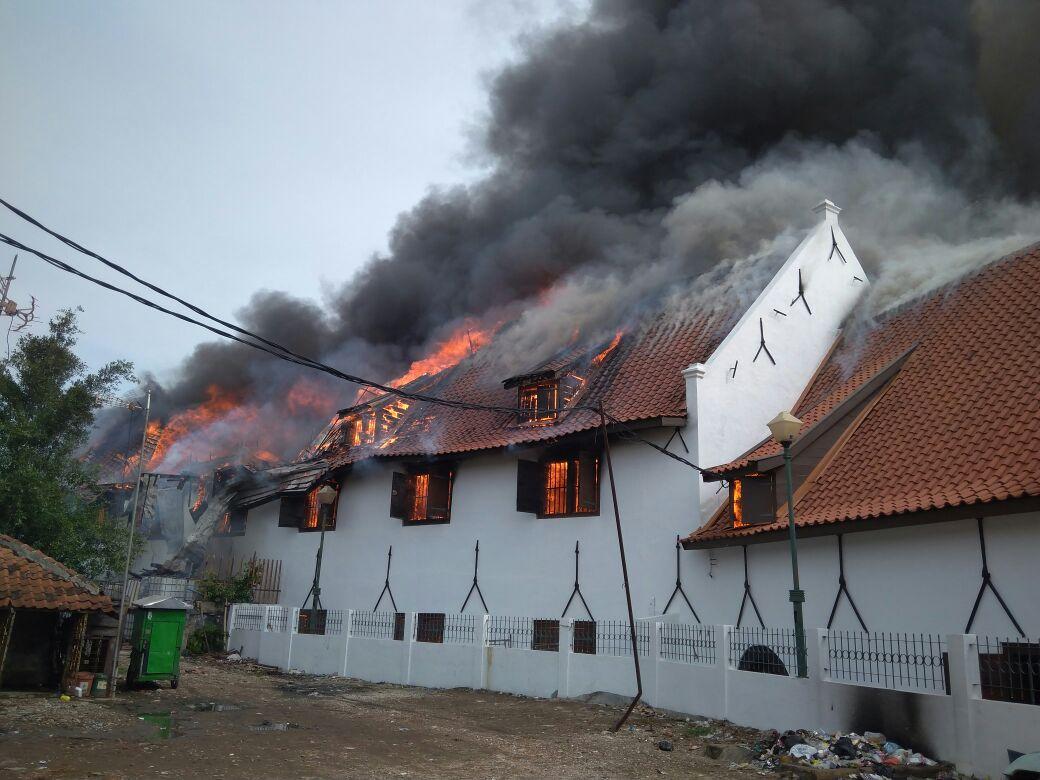 Terbakarnya Museum Bahari Menjadi Kerugian Bagi Ibukota