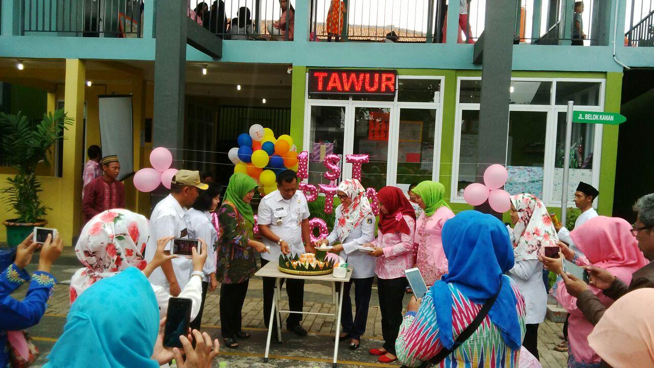 RPTRA Kampung Budaya Gelar Tarian dan Menggambar di Milad Pertama