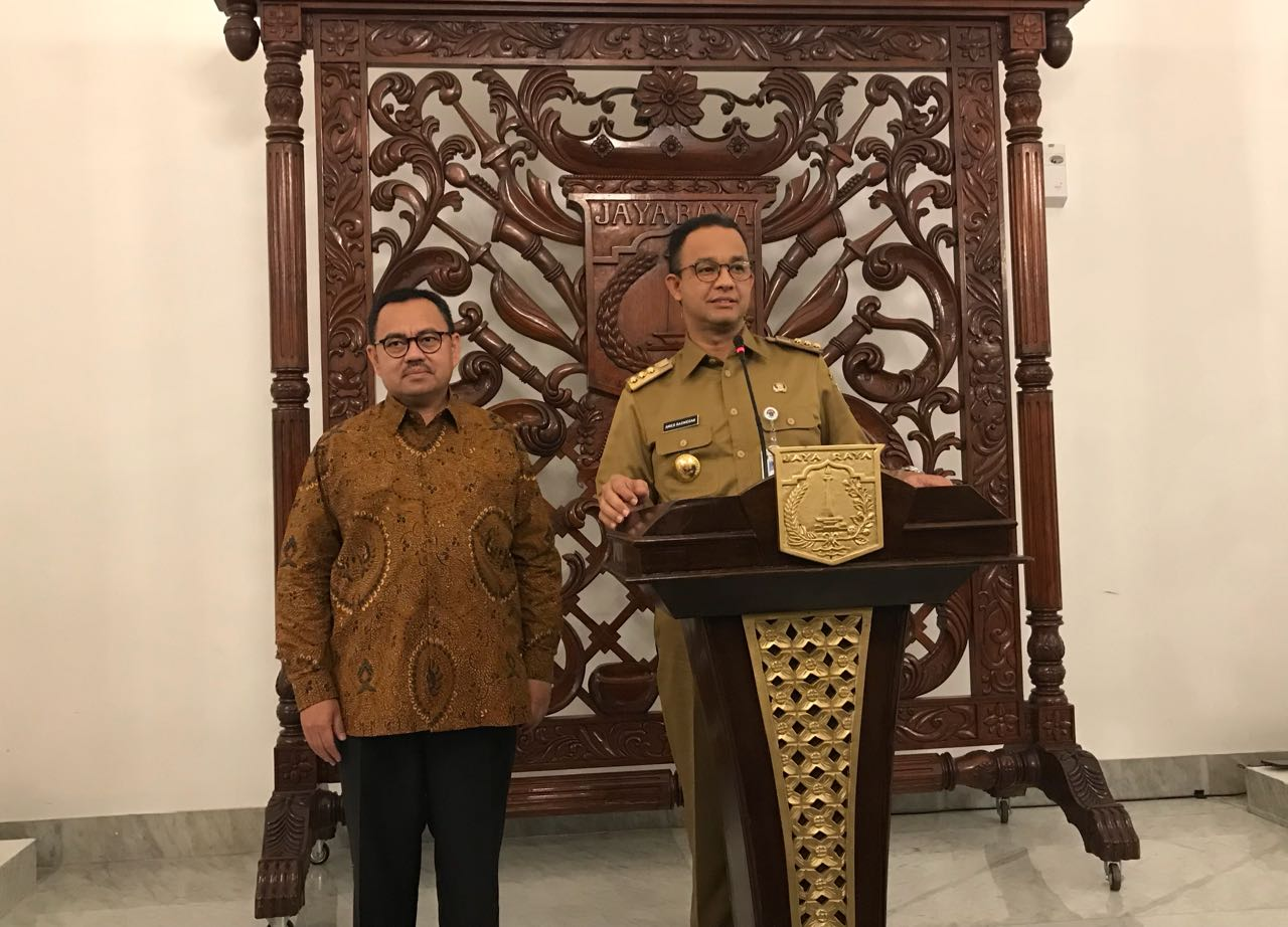 Bertemu Anies, Sudirman Said Ingin Ada Ketersambungan DKI dengan Jateng