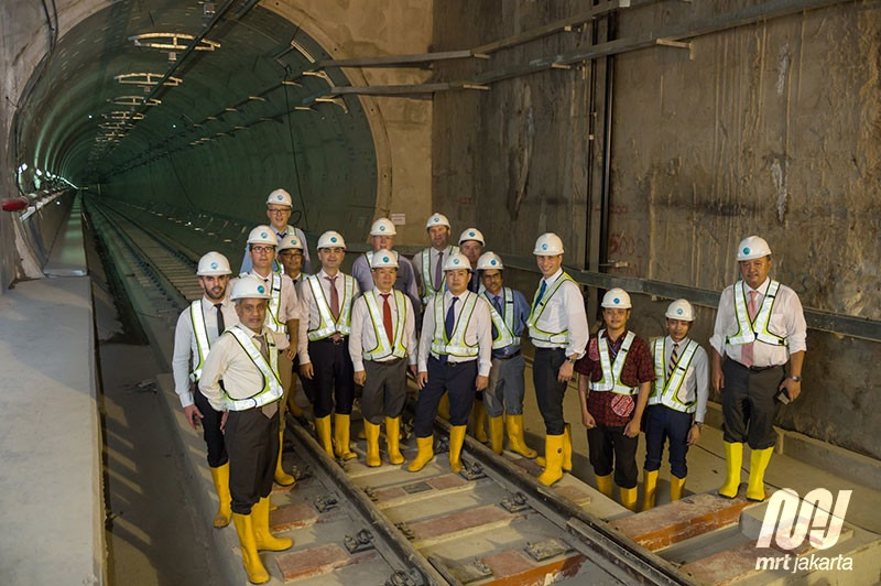 AIIB Kunjungi MRT Jakarta, Koridor II Tetap Ditangani JICA