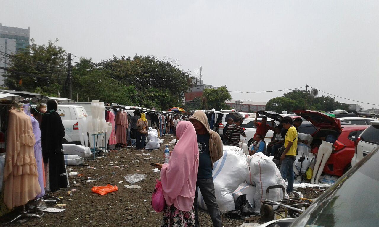 """Pedagang Pasar Tasik Nyaman dan Senang di Lokasi Penampungan Yang Baru, Pedagang: """"Terima Kasih Pak Wagub Sandi"""""""