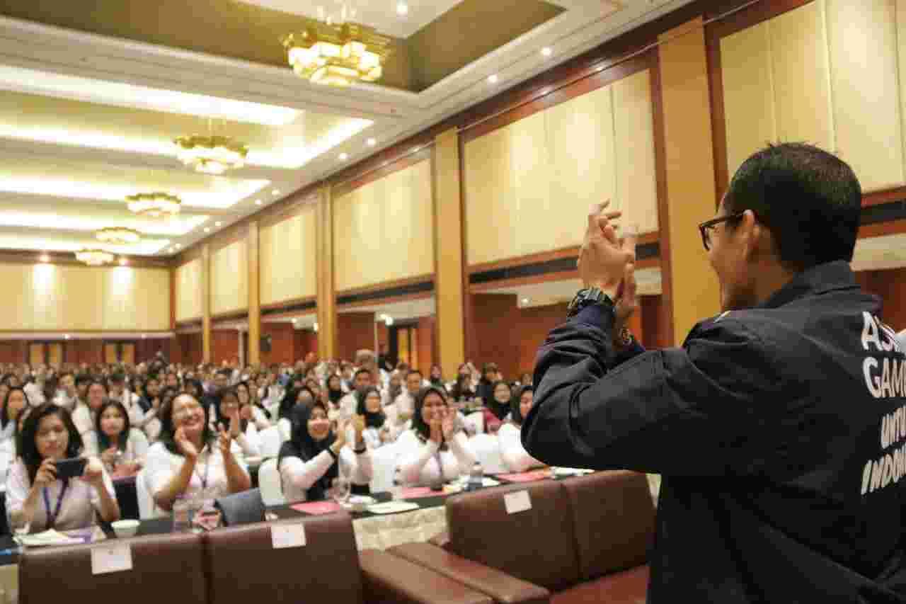 Wagub Sandiaga Minta Relawan Tiket Asian Games Terapkan Nilai MESRA, Apa Itu?