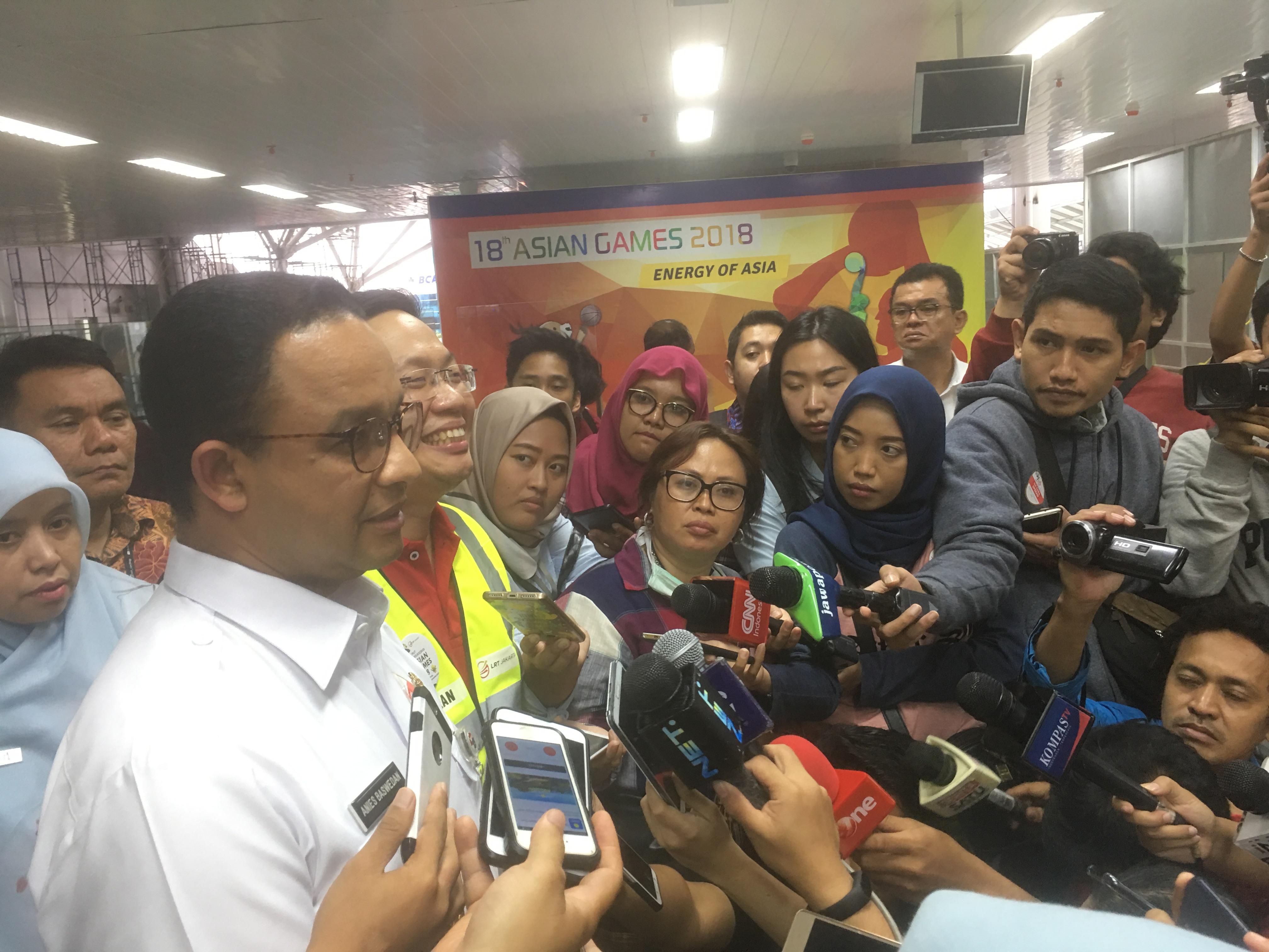 Pembangunan LRT Jakarta Fase II Tunggu Selesai Pembahasan dengan Kementerian