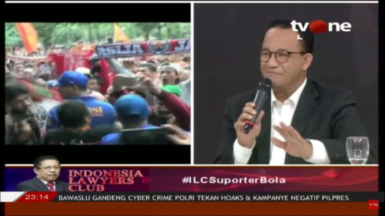 Anies: Jakarta Akan Mulai Bentuk Gugus Tugas Pencegahan Kekerasan Sepakbola