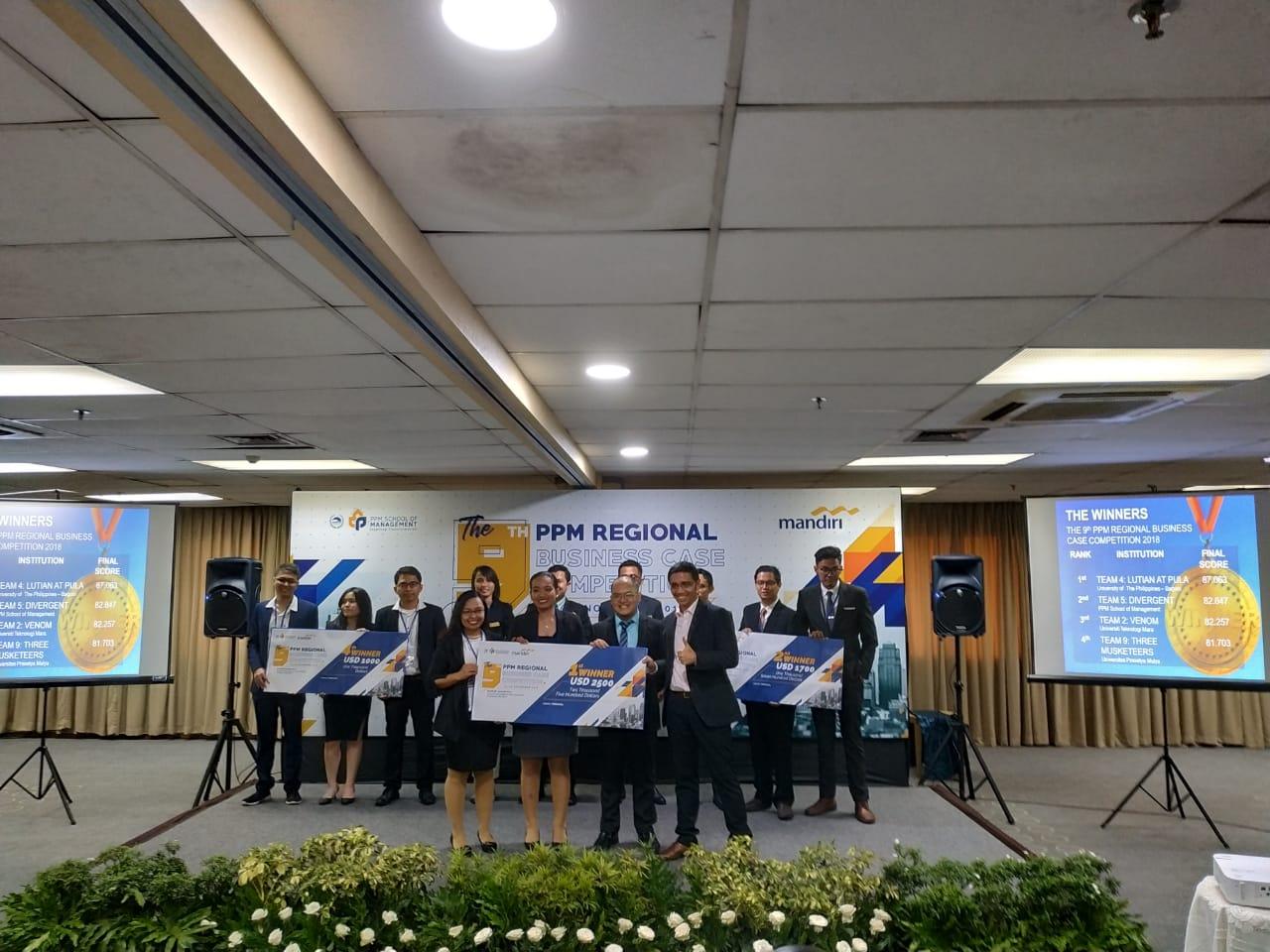 Kampus PPM Sukses Selenggarakan Kompetisi Bisnis Berskala Asia Pasifik Selama 9 Tahun