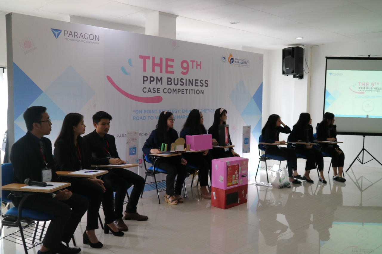 Kampus PPM Tampil Dominan dalam Business Case Competition PT Paragon