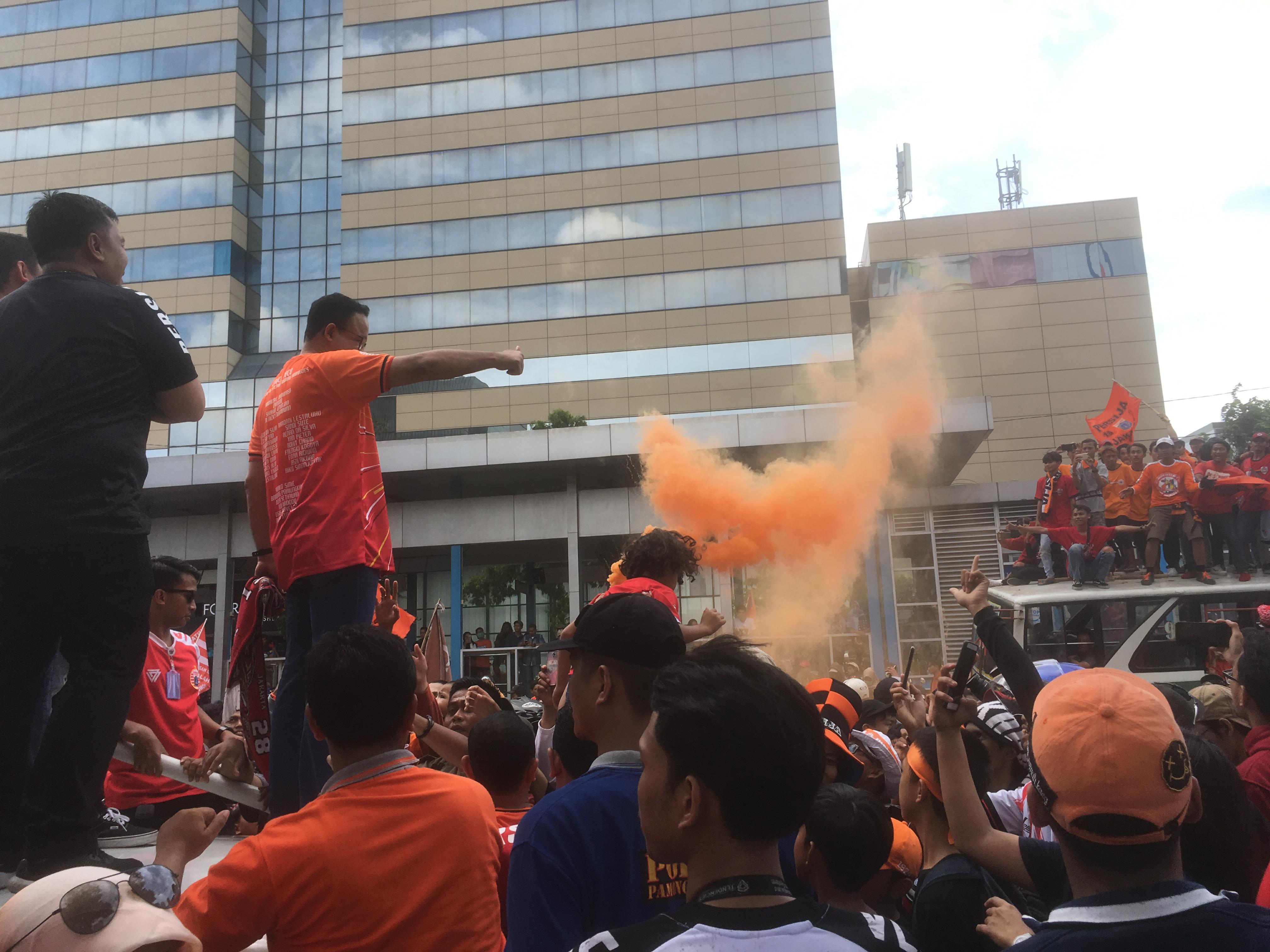 Apresiasi atas Capaian Juara Persija, Pemprov DKI Tegaskan Komitmen Bangun Stadion