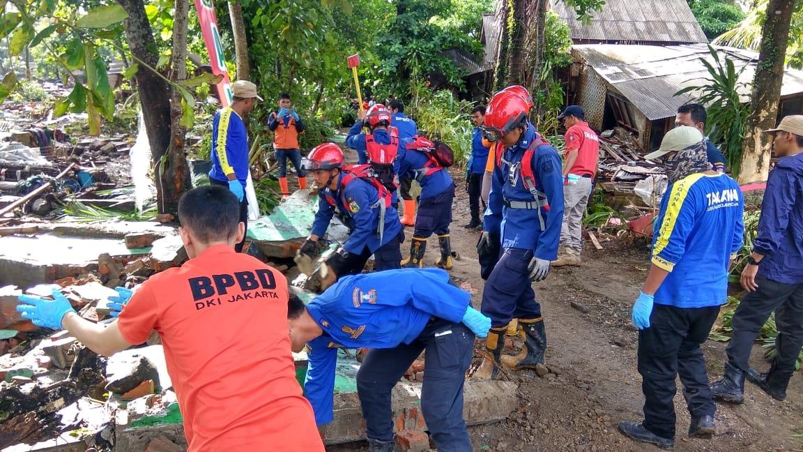 Tsunami Banten-Lampung, Pemprov DKI Hadir Memberikan Bantuan