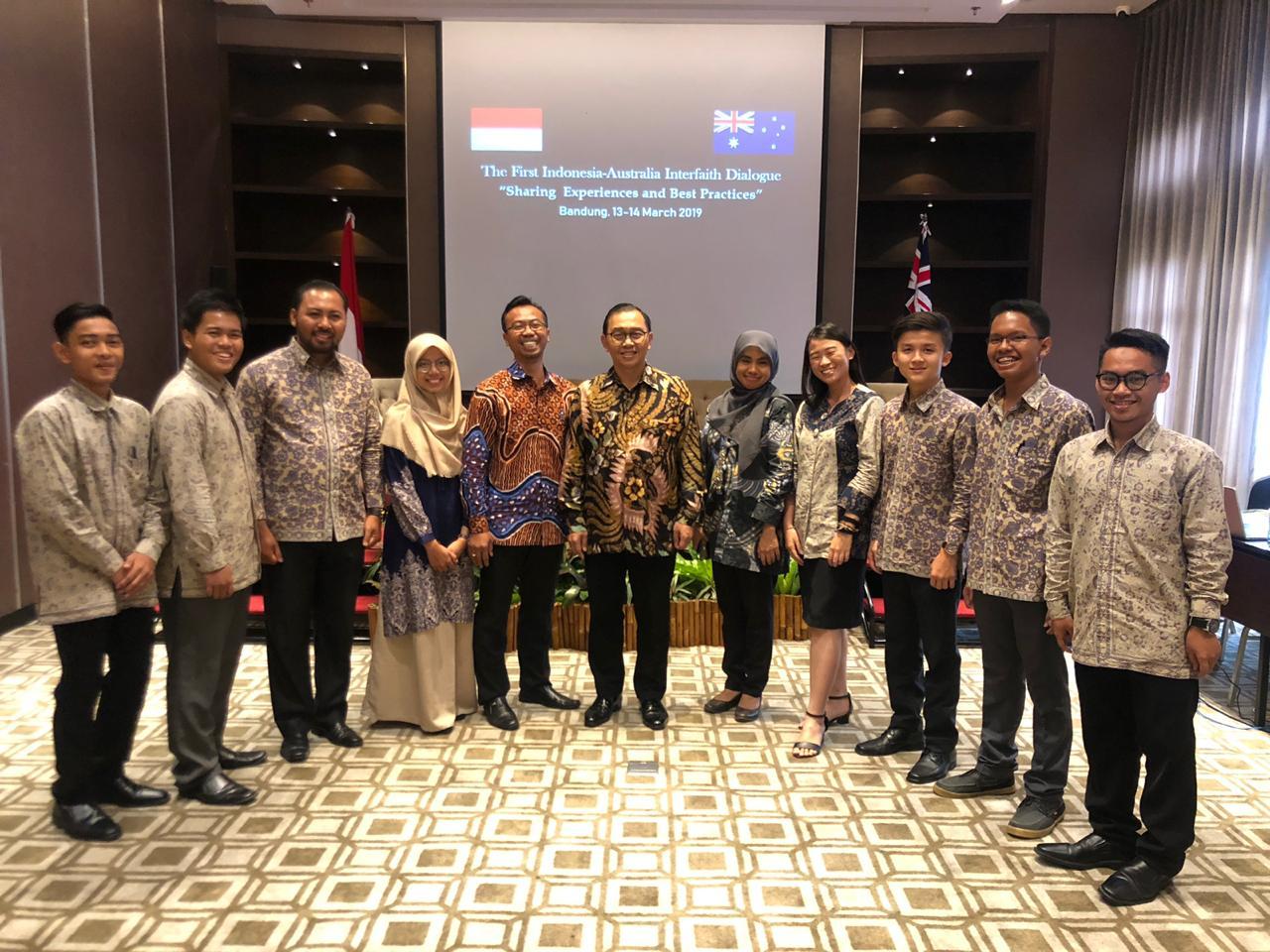 Menjadi Peserta Aktif, Mahasiswa PPM Hadiri Dialog Antaragama Indonesia-Australia