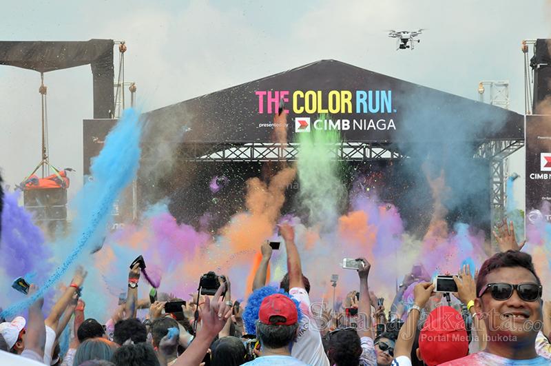 Happy 5 K Jakarta Color Run Kembali Digelar