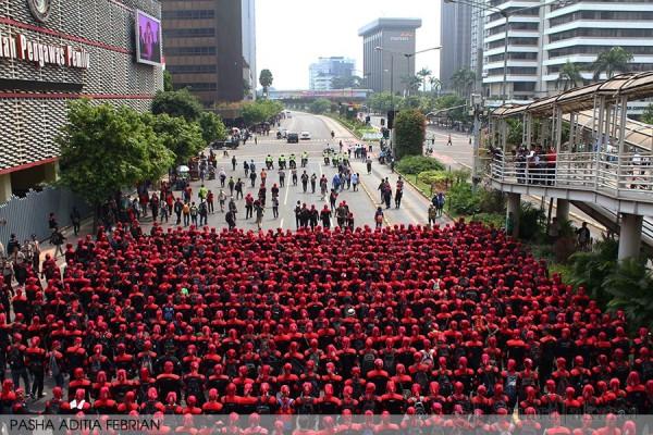 Jumhur: Jangan Anggap Enteng Gerakan Kaum Buruh!