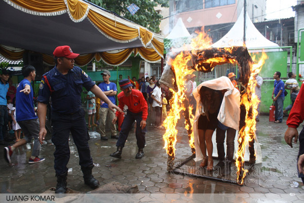 Jarum Foundation Edukasi Satgas Pencegahan Kebakaran Tambora