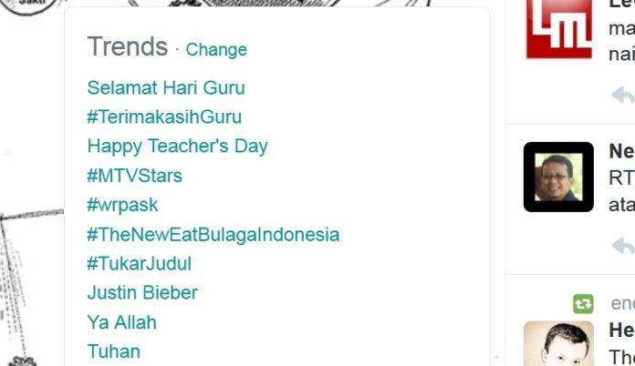suara jakarta terima kasih guru trending topic