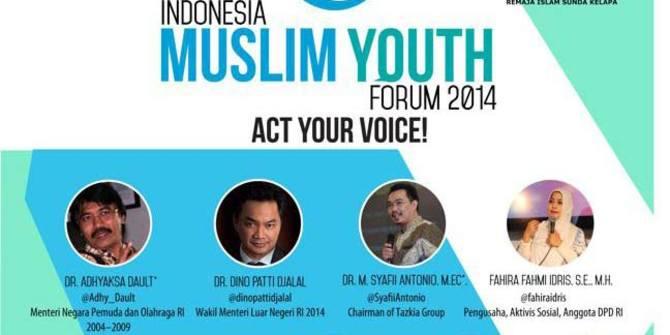 RISKA Gelar Indonesia Muslim Youth Forum 2014