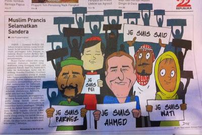 Headline Harian Nasional 12 Januari 2015