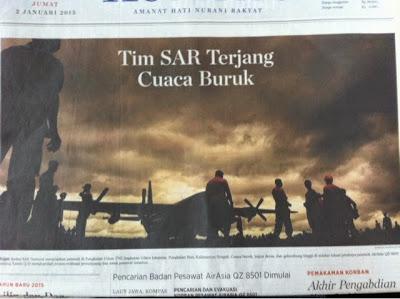 Headline Harian Nasional 2 Januari 2015