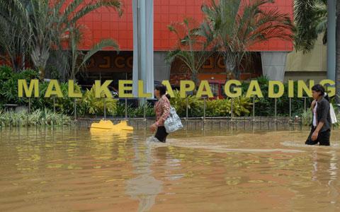 Parah, Warga Jakarta Utara Paling Banyak Mengungsi Karena Banjir