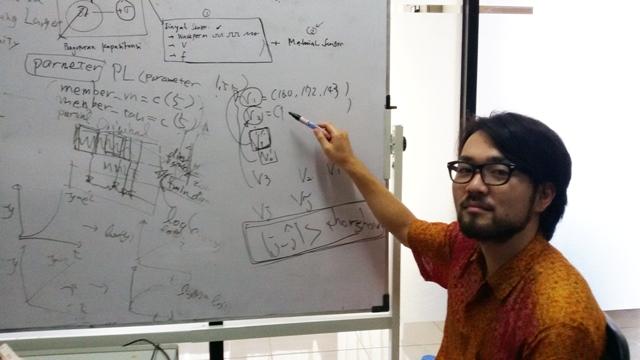 suara jakarta Hiroki Okada Mahasiswa Jepang di C-Tech Labs Temukan Chaos dalam Otak