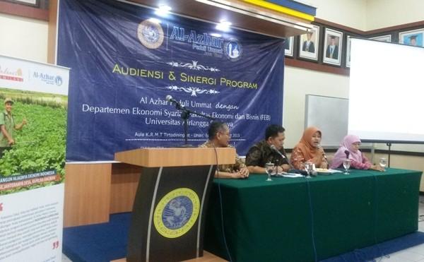 Sinergi APU, PKES & UNAIR Kuatkan Perekonomi Syariah di Pedesaan
