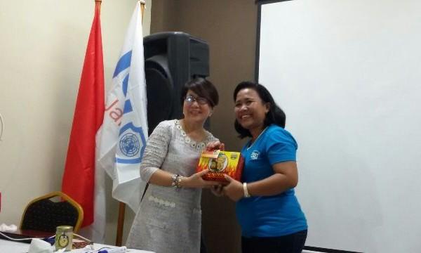 Momen KAA, JCI Depok Promosikan Produk UKM Kepada Senator JCI International