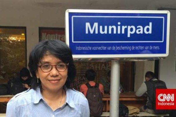 Nama Munir Akan Menjadi Nama Jalan di Belanda Sebagai Penghormatan Pejuang HAM