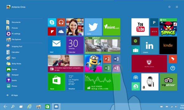 Continuum, Fitur Masa Depan Microsoft yang Menggabung PC & Ponsel