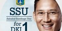 Publik Mendukung Sandiaga Uno untuk DKI 1