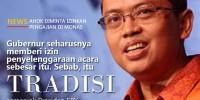 Ahok Larang Pengajian di Monas, DPRD DKI: Apalah Artinya Masalah PKL