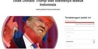 Larang Umat Muslim Masuk ke Amerika, Netizen Tolak Donald Trump dan Bisnisnya Masuk Indonesia