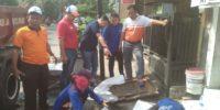 Satgas Tata Air Perbaiki Saluran PHB
