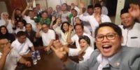 Teriakan Yel Kemenangan Anies-Sandi Dari Para Relawan