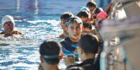 Kunjungi Aquatic GBK, Sandiaga Pastikan Fasilitas Kompetisi Renang Siap Digunakan