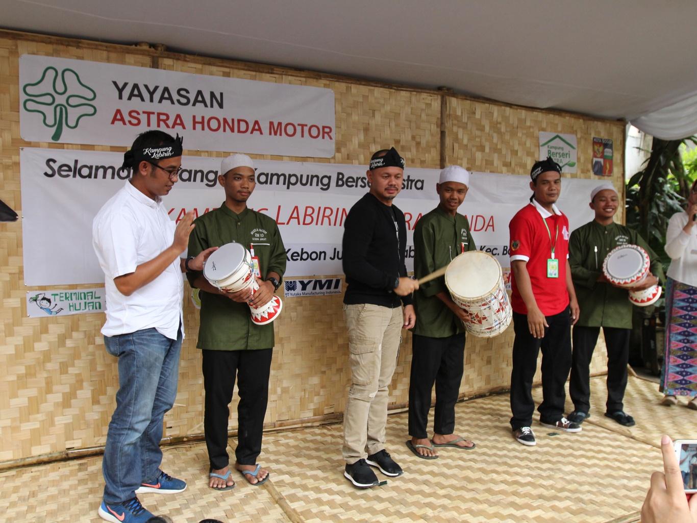 Dukung Ekonomi Masyarakat, YAHM Kembangkan Kampung Labirin di Bogor