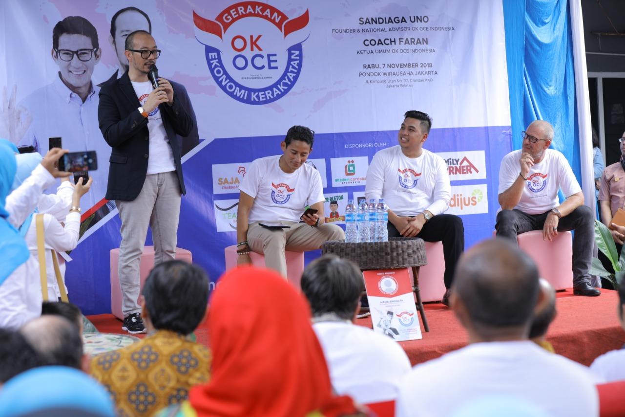 Gerak OK OCE Indonesia Segera Dideklarasikan di 514 Kabupaten/ Kota