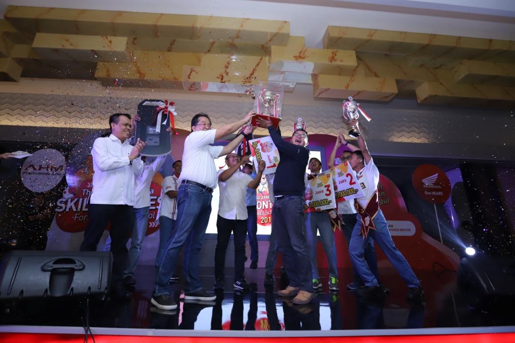Wujudkan SDM Unggul, AHM Gelar Kompetisi Siswa dan Guru SMK se-Indonesia
