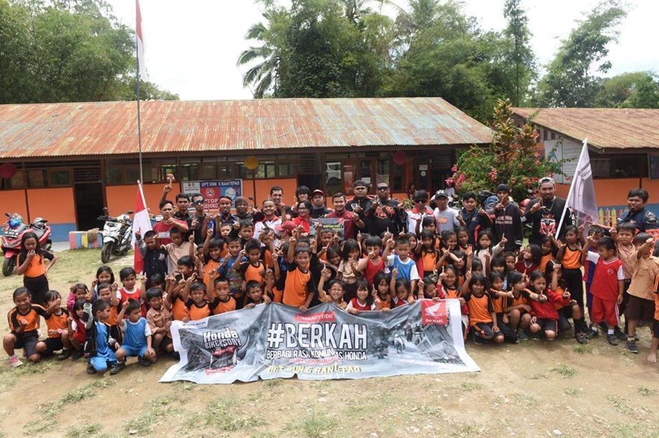 Antusiasme Bikers Honda Regional Sambut Pesta Akbar HBD 2019