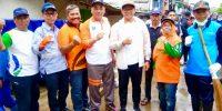 Dewan Kota Jakpus Turun Tangan Ikuti Kerja Bakti Masal Pasca Banjir