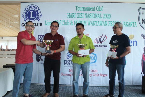 Lions Golf Club & FWPJ Gelar Turnamen Golf Hari Gizi Nasional 2020