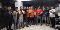 Karang Taruna 07 dan Jakmania Bendungan Hilir Salurkan Bantuan Hand Sanitizer