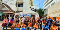 Semangat Kolaborasi Dewan Kota Jakarta Pusat X Jakmania Tenabang berantas Virus Covid-19