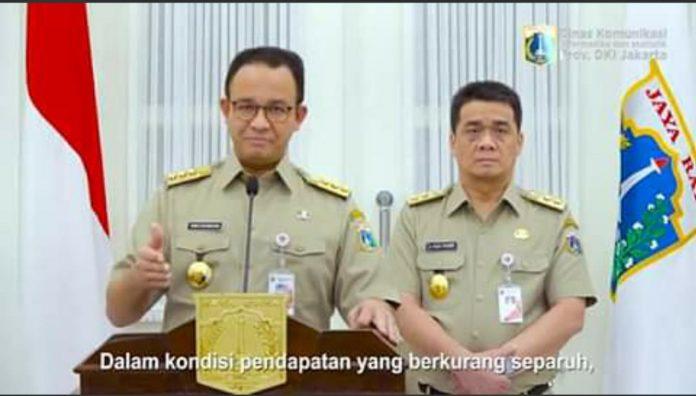 Anies Baswedan dan Ariza Patria - SuaraJakarta.co